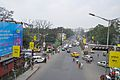 Eastern Metropolitan Bypass & Canal South Road Junction - Chingrighata Flyover - Kolkata 2012-01-19 8389.JPG