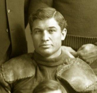 Eben Wilson - Wilson cropped from 1901 Michigan team photograph
