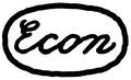 Econ brand logo 1925.tif