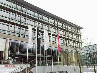 Kontor Records - Headquarters of Kontor Records and Edel AG at Neumühlen, Hamburg