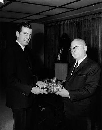 Edgar Bronfman Sr. - Edgar M. Bronfman with his father, Sam Bronfman