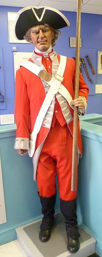 John Porteous (soldier) - Uniform of the Edinburgh Town Guard