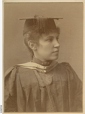 Edith Emily Dornwell - Edith E. Dornwell, graduate and former student of the Advanced School for Girls