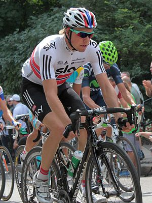Edvald Boasson Hagen - Boasson Hagen at the 2012 Grand Prix Cycliste de Québec