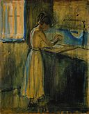 Edvard Munch - Young Woman Washing herself (1896).jpg