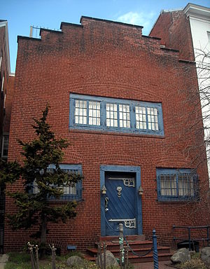Kalorama, Washington, D.C. - Edward Lind Morse Studio located at 2133 R Street NW