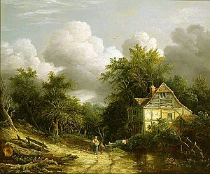 Edward Williams (painter) - Edward Williams A Rustic Rural Landscape