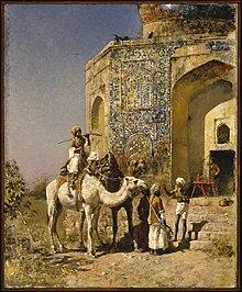 Edwin Lord Weeks, La moschea blu fuori Delhi
