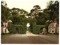 Eglington Castle, entrance gates, Irvine, Scotland-LCCN2001706029.tif