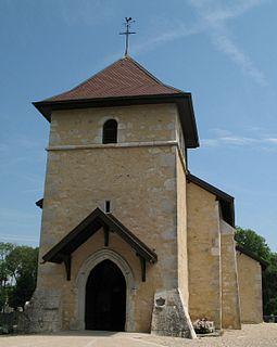 Saint-Genis-Pouilly Commune in Auvergne-Rhône-Alpes, France