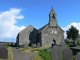 Abererch - Church of St Cawrdaf