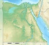 Reliefkarte: Ägypten
