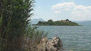 Lake Köyceğiz - Island in Lake Köyceğiz