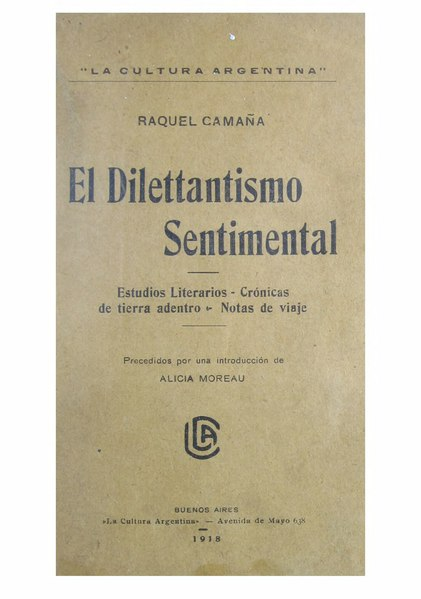 File:El Dilettantismo sentimental.djvu
