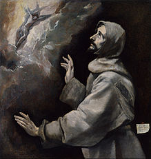 El Greco - Saint Francis Receiving the Stigmata - Google Art Project