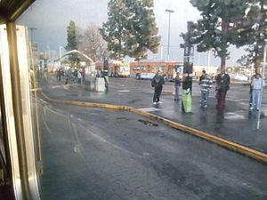 El Monte Station - Image: El Monte Metro Silver Line Station 3