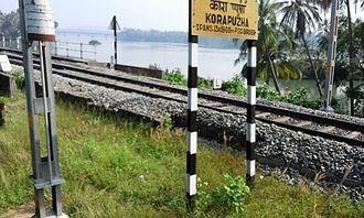 Korapuzha - Korappuzha Railway Bridge