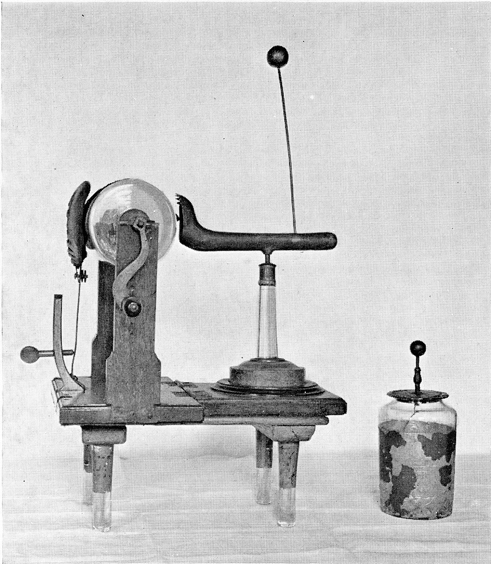 Electrical machine designed by John Wesley, 18th c. Wellcome L0003006