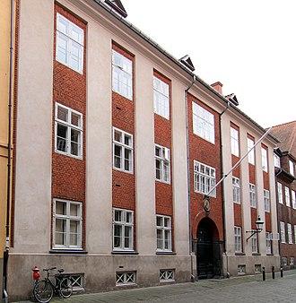 Elers' Kollegium - Front of the building