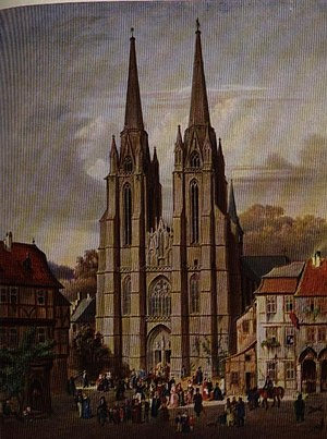 Elizabeth of Hungary - Elisabethkirche in Marburg