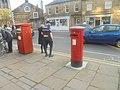Elizabeth II post boxes, Otley Road, Headingley (4th May 2018) 001.jpg