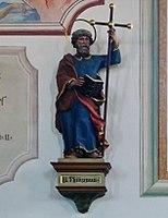 Emmering Kirche St Johann Baptist & Evangelist 059 Südwand Philippus.jpg