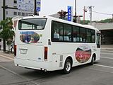 Engaru town bus Ki200K 0331rear.JPG
