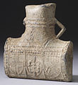 English - Pilgrimage Flask from the Shrine of Thomas Becket in Canterbury - Walters 5599 - View B.jpg
