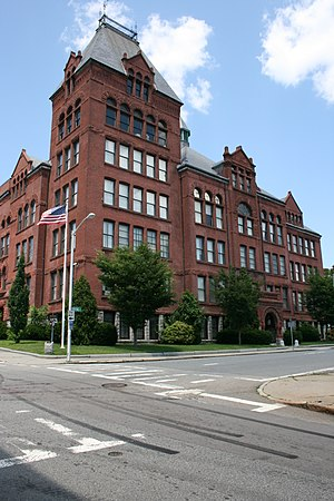 English High School (Worcester, Massachusetts) - Image: English High School Worcester MA