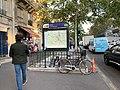 Entrée Station Métro Cluny Sorbonne Paris 1.jpg