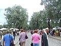 Entrada Principal Mercado Medieval de Hämeenlinna 2007.jpg