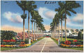 Entrance to Gulfstream Park, at Hallandale, Florida, the 'track by the sea.' One of the nation's most scenic race courses..jpg
