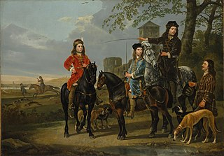Equestrian Portrait of Cornelis (1639–1680) and Michiel Pompe van Meerdervoort (1638–1653) with Their Tutor and Coachman (\