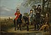 "Equestrian Portrait of Cornelis (1639–1680) and Michiel Pompe van Meerdervoort (1638–1653) with Their Tutor and Coachman (""Starting for the Hunt"") MET DP146442.jpg"
