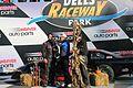 Erik Darnell victory lane Dells Raceway Park 2016.jpg