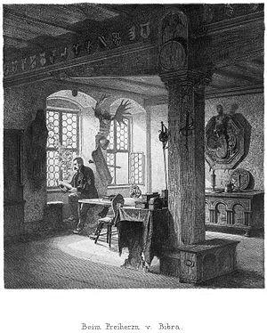 Ernst von Bibra - Ernst von Bibra by Lorenz Ritter