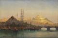 Ernst Koerner Istanbul, Valide und Solimanie Moschee.png