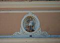 Escultura de sant Miquel al monestir de sant Miquel de Llíria.jpg