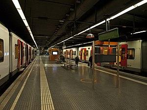 Plaça d'Espanya station