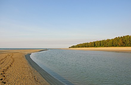 Estuary mouth located in Darwin, Northern Territory, Australia Estuary mouth.jpg