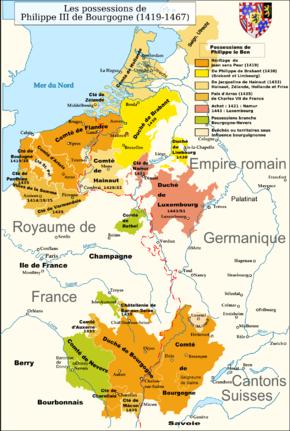 États bourguignons sous Philippe III de Bourgogne