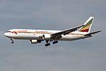 Ethiopian Airlines Boeing 767-3BG-ER ET-ALH (33822196351).jpg