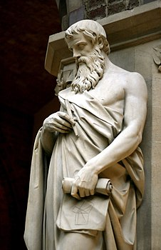 Euclid statue, Oxford University Museum of Natural History, UK - 20080315.jpg