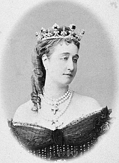 Eugénie de Montijo Last Empress consort of the French as the wife of Napoleon III, Emperor of the French