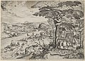 Euntes in Emaus (Landscape with Pilgrims at Emmaus) MET DP837448.jpg