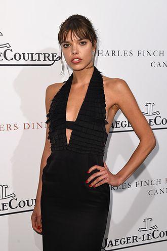 Eva Doležalová - Eva Doležalová at Cannes Film Festival 2015, Charles Finch dinner