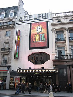 Evita at the Adelphi.jpg
