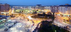 Jaén, Spain - View of Paseo de España in Jaén