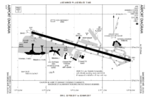 FAA airport diagram as of February 2017[update]