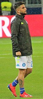 Lorenzo Insigne Italian footballer